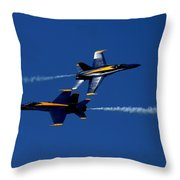 Angelic Convergence Throw Pillow