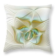 Angelic Forces Throw Pillow