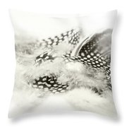 Angelic Message Throw Pillow