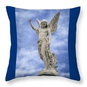 Angelic Peace And Beauty Throw Pillow