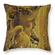 Angelic Tapestry Throw Pillow