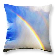 Angelic Towing Throw Pillow