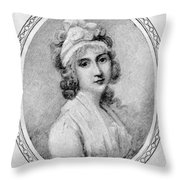 Angelica Schuyler Church Throw Pillow