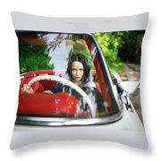 Angelina Petrova Throw Pillow
