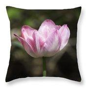 Angelique Peony Tulip 2 Throw Pillow