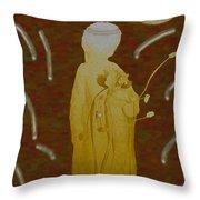 Angelita De Oro Throw Pillow
