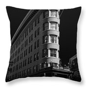 Angelo Calori Building Throw Pillow