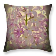 Angels Alphabets Throw Pillow