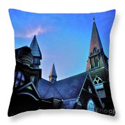 Angels Among Us - The Three Sisters Throw Pillow