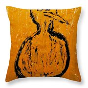 Angels And Devils - Sun Devil Throw Pillow