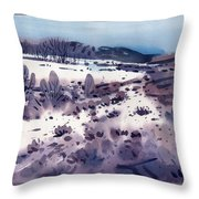 Angel's Camp Throw Pillow