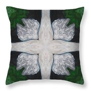 Angel's Cross Throw Pillow