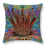 Angels Crown-cosmic Stew Throw Pillow