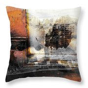 Angels In Former And Modern Times Throw Pillow