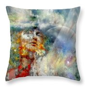 Angels In Heaven Throw Pillow