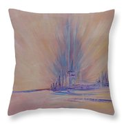 Angels Of Revival 1 Throw Pillow