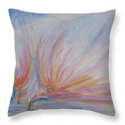 Angels Of Revival Ps 104 4 Throw Pillow