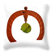 Angels Of The World Throw Pillow
