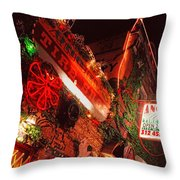 Angels Tire No. 1 Throw Pillow