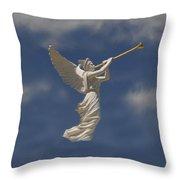 Angels Trumpet Throw Pillow