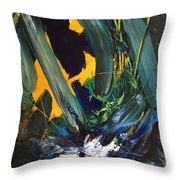 Anger And Bad Temper Throw Pillow
