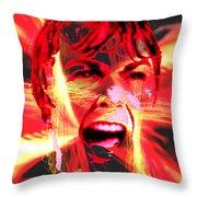 Anger Management Throw Pillow