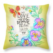 Angie's Creation  Throw Pillow