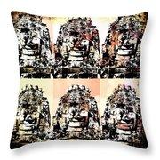 Angkor Warhol #1.2 Throw Pillow