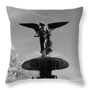 Angel Wing Throw Pillow