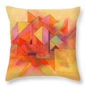 Angles 333 Throw Pillow