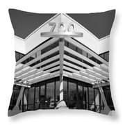 Angles And Symmetry Throw Pillow