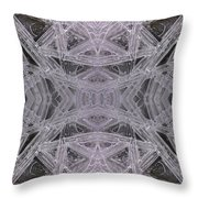 Angles In Ice On Monadnock - A1 Throw Pillow