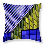 Angles In The Sky Throw Pillow