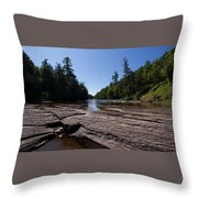 Angles On The Isles Throw Pillow