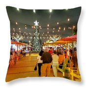 Anglin's Square Throw Pillow