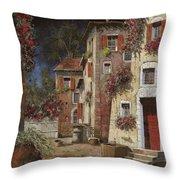 Angolo Buio Throw Pillow by Guido Borelli