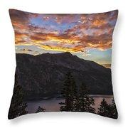 Angora Ridge Sunset 9 Throw Pillow
