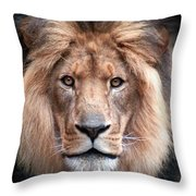 Angry Throw Pillow