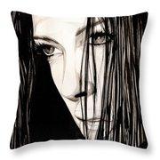 Anguish #5 Throw Pillow