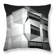 Angular Architecture Throw Pillow