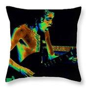 Angus Art Throw Pillow
