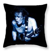Angus Rocks Spokane Throw Pillow