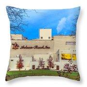 Anheuser-busch In Merrimack Throw Pillow