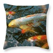 Animal - Fish - Bestow Good Fortune Throw Pillow