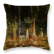 Animals I. Throw Pillow