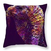 Animals Species Mixed Forest  Throw Pillow