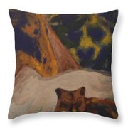 Animals -039 Throw Pillow