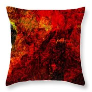 Animus Throw Pillow