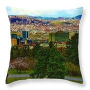 Ankara Throw Pillow