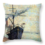 Ankerplaats 1885 Throw Pillow